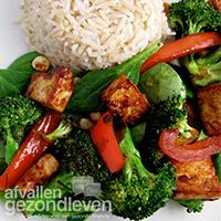 Roerbakschotel-tofu-recept