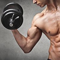 Spieren opbouwen met eiwitten