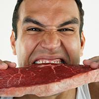 vlees eten gezond