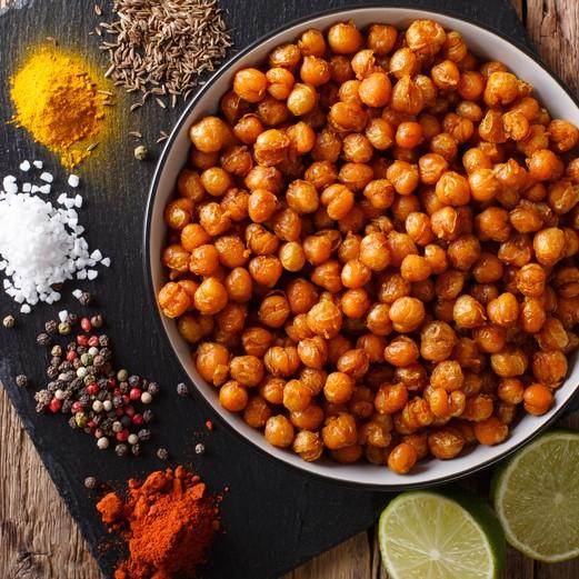 gezonde-snack-geroosterde-kikkererwten-recept